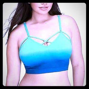 Cacique Intimates & Sleepwear - Blue Ombré Bralette